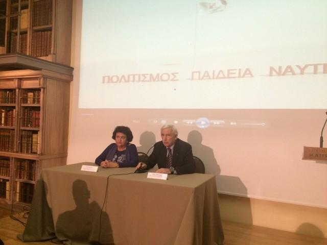 Ο Πάνος Λασκαρίδης μιλά για το: Iδρυμα Aικ. Λασκαρίδη και το ναυάγιο των Αντικυθήρων