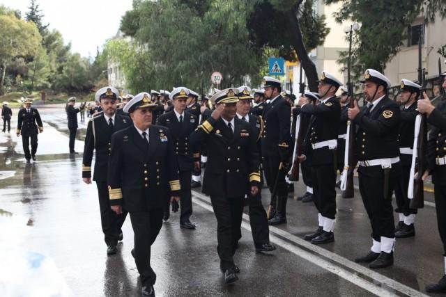 Ο αρχηγός Ναυτικού των Ηνωμένων Αραβικών Εμιράτων καλεσμένος του ΠΝ