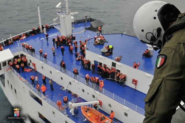 Ετοιμάζεται η επιστροφή των Ελλήνων επιβατών του Norman Atlantic