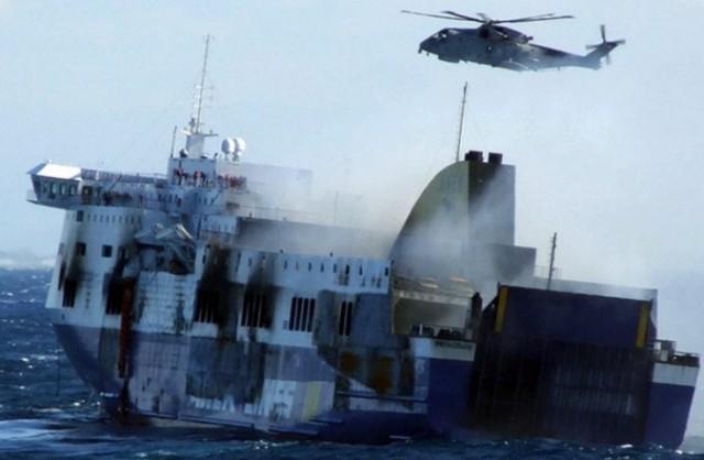 Δύο Αλβανοί ναυτικοί νεκροί κατά τη ρυμούλκηση του Norman Atlantic