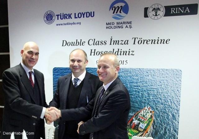 Συνεργασία Turkish Lloyd και RINA για απόδοση διπλής κλάσης