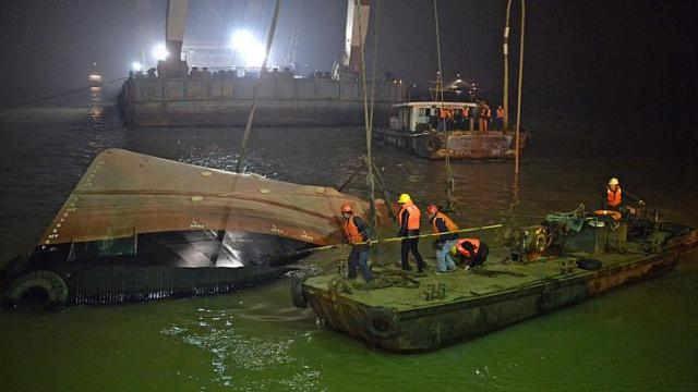 21 νεκροί, 1 αγνοούμενος σε ναυάγιο ρυμουλκού στην Κίνα