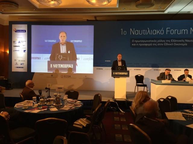 Καθησυχαστικός ο Γ.Σταθάκης για τις προθέσεις του ΣΥΡΙΖΑ προς την ελληνική ναυτιλιακή κοινότητα
