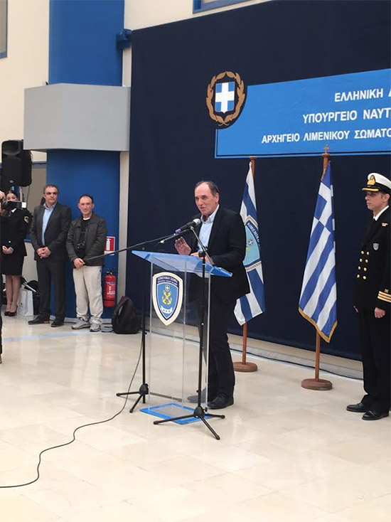 Γιώργος Σταθάκης: «Θα δώσουμε ιδιαίτερη βαρύτητα στην αναβάθμιση της ναυτικής εκπαίδευσης, των εργασιακών σχέσεων ενώ θα εξεταστεί και το θέμα των μισθών»