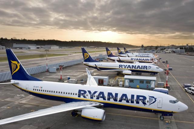 Νέα δρομολόγια και από τη Ryanair