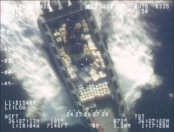 Νέα έξαρση του –δια θαλάσσης- εμπορίου ναρκωτικών στην Καραϊβική