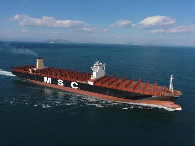 Το μεγαλύτερο containership στον κόσμο παρέλαβε η MSC