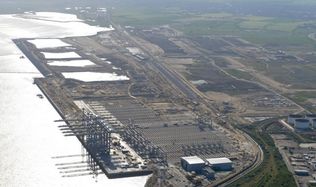 H DP World ενισχύει τις υποδομές της στο London Gateway Port