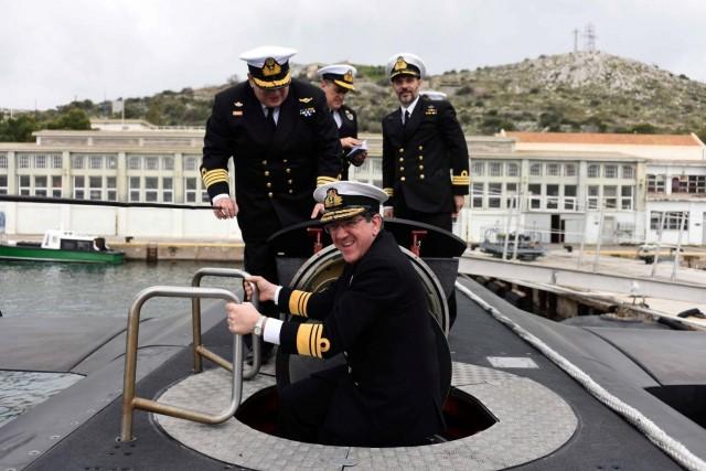 Ο Διοικητής του ΝΑΤΟ Allied Maritime Command στην Ελλάδα