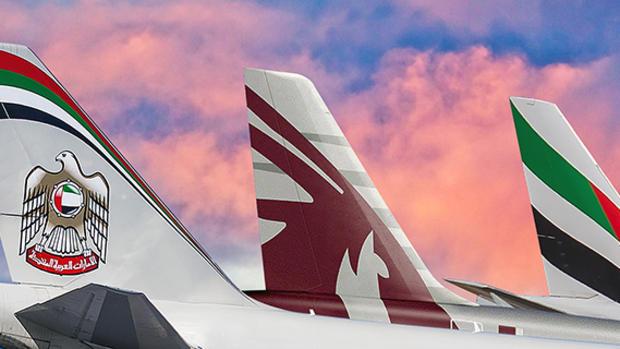 Ισχυρισμοί για αθέμιτο ανταγωνισμό από αερομεταφορείς του Περσικού Κόλπου