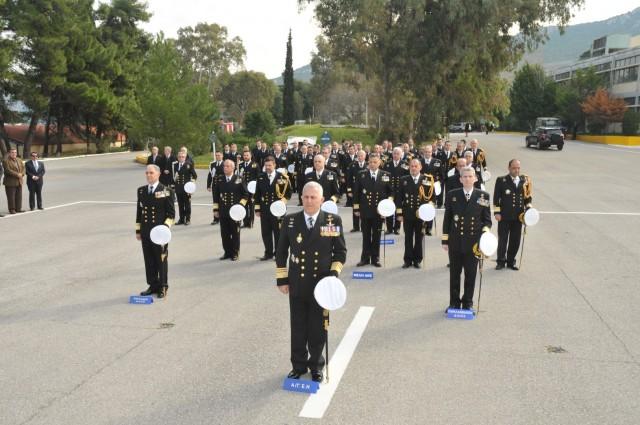 Η τελετή παράδοσης–παραλαβής Διοικητού Ναυτικής Εκπαίδευσης στο ΠΝ