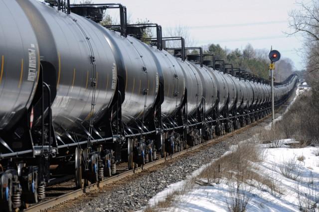 Θέματα ασφαλείας στη σιδηροδρομική μεταφορά πετρελαίου στις ΗΠΑ