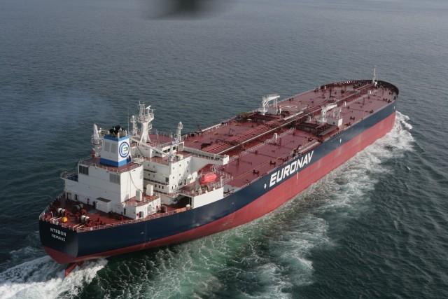 """Το δεξαμενόπλοιο """"Devon"""" της Euronav"""