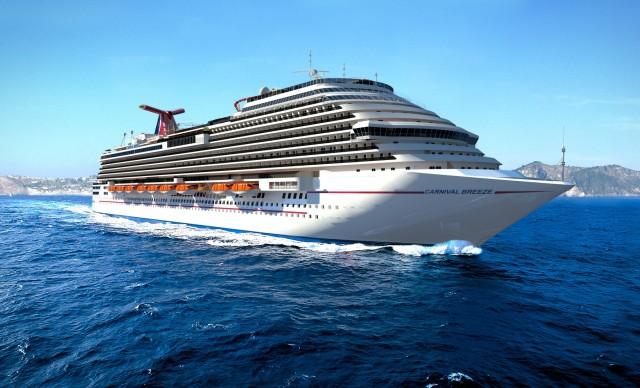 Παραγγελίες νέων πλοίων για την Carnival