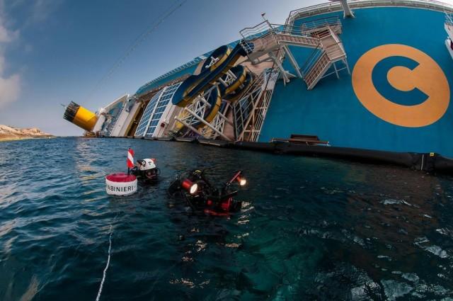 Νέα στοιχεία στο φως για το ναυάγιο του Costa Concordia