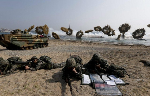 US-South Korea Foal Eagle annual joint military exercises