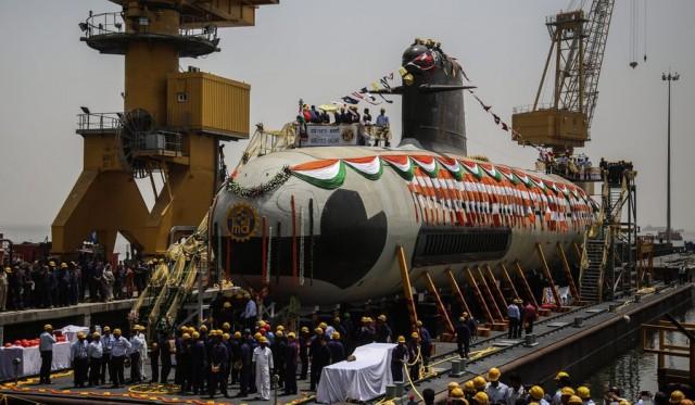 Το νέο υποβρύχιο Scorpene της Ινδίας