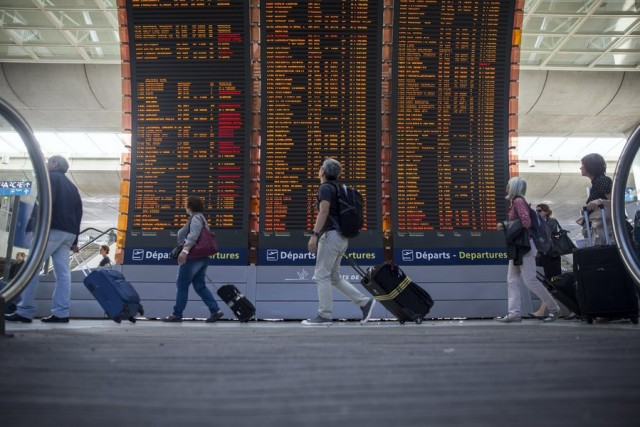 Χάος στα γαλλικά αεροδρόμια
