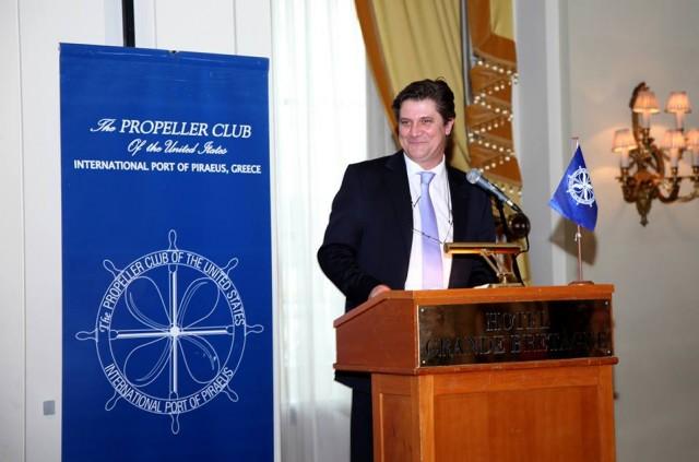 H νέα επιτροπή Διοίκησης του International Propeller Club, Port of Piraeus.