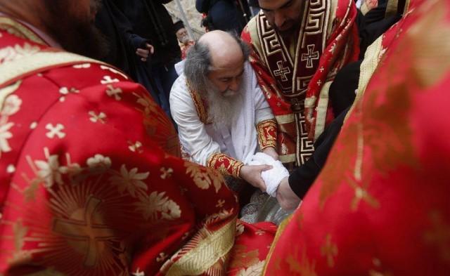 Ο Πατριάρχης Ιεροσολύμων διδάσκει την ταπεινοφροσύνη