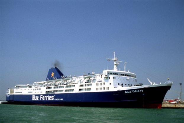 Το  «Blue Galaxy» στον στόλο της Blue Star Ferries