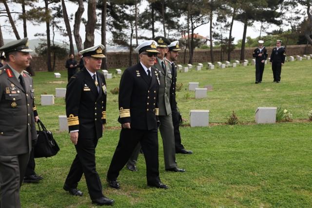 Εκδηλώσεις Τιμής και Μνήμης για τους Πεσόντες στη Μάχη της Καλλίπολης