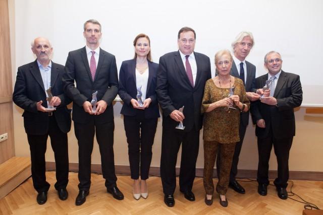 Οι νικητές των Βραβείων Ευκράντη 2014