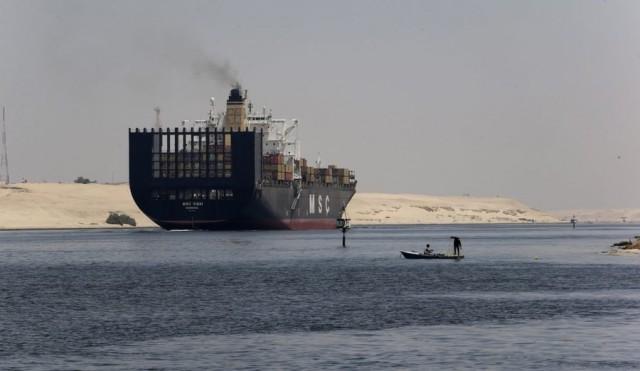 Με γοργούς ρυθμούς η διάνοιξη της νέας Διώρυγας του Σουέζ
