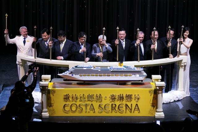 Στην Κίνα το νέο πλοίο της Costa Cruises