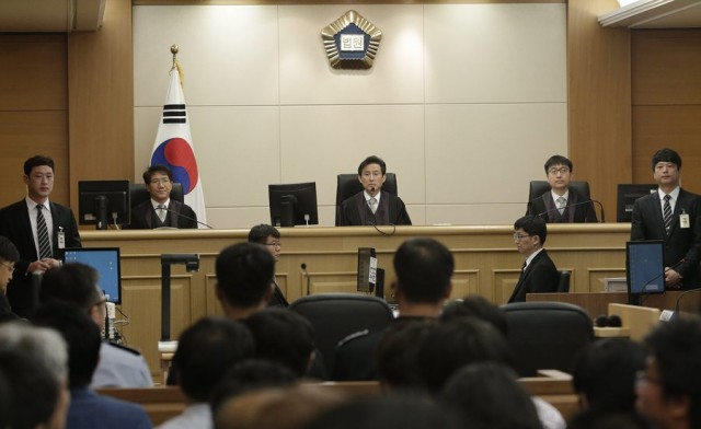 Ισόβια κάθειρξη για τον καπετάνιο του Sewol