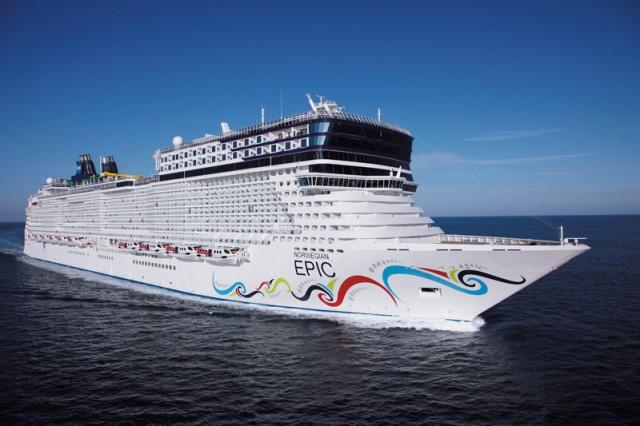 Στη Βαρκελώνη το κρουαζιερόπλοιο Norwegian Epic