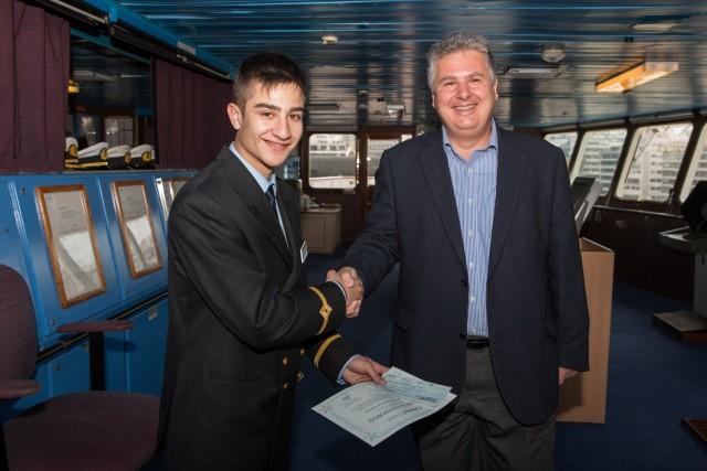 Η Celestyal Cruises επιβραβεύει έμπρακτα τη νέα γενιά πλοιάρχων