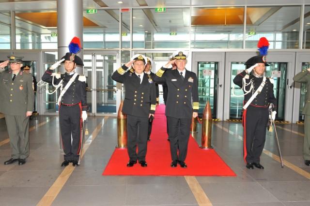 Συμμετοχή αρχηγού ΓΕΝ στη σύνοδο αρχηγών ευρωπαϊκών ναυτικών CHENS 2015
