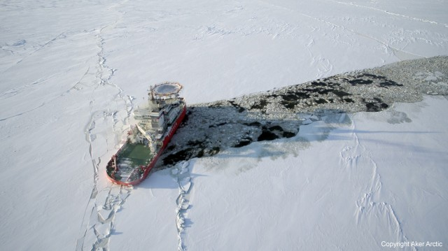Baltika ice trials mark dynamic positioning first