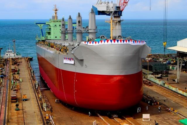 Σε αύξηση παραγωγής στοχεύει η Tsuneishi Heavy Industries