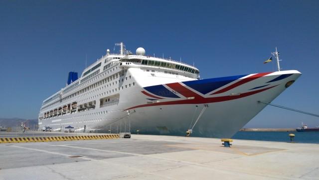 Υποδοχή των κρουαζιερόπλοιων Princess Emerald και Oriana στο Ηράκλειο Κρήτης