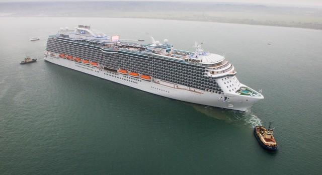 Η 200η επίσκεψη της πριγκίπισσας της κρουαζιέρας στο λιμάνι της Χάβρης