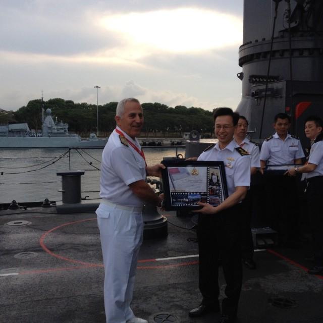 Συμμετοχή Αρχηγού ΓΕΝ στην έκθεση IMDEX ASIA 2015