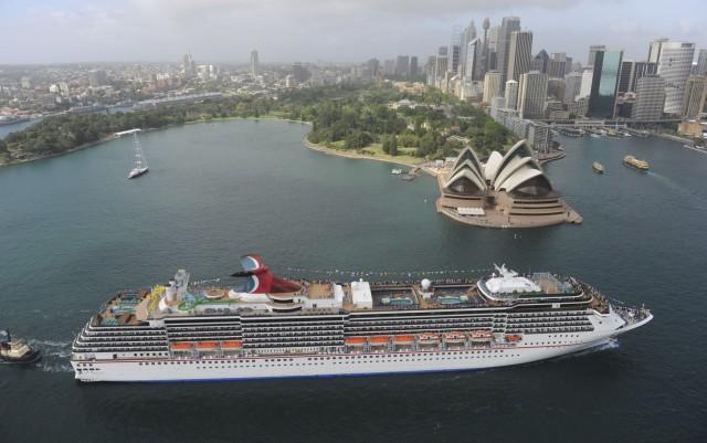 Αυστραλία: 1.000.000 επιβάτες κρουαζιέρας !