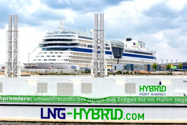AIDAsol και LNG Hybrid Barge: Ασυναγώνιστος συνδυασμός !