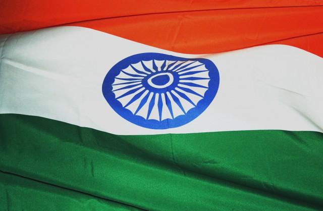 """""""Λευκή σημαία"""" για την Ινδία"""