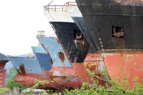 Παρά την άνοδο της ναυλαγοράς οι διαλύσεις πλοίων παρέμειναν περιορισμένες
