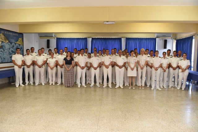 Τελετή αποφοίτησης του Σχολείου Κυβερνητών Περιπολικών Σκαφών Λ.Σ.