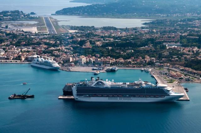 60 κρουαζιερόπλοια αναμένονται τον Ιούλιο στην Κέρκυρα