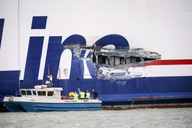 Σύγκρουση πλοίων στη Σουηδία