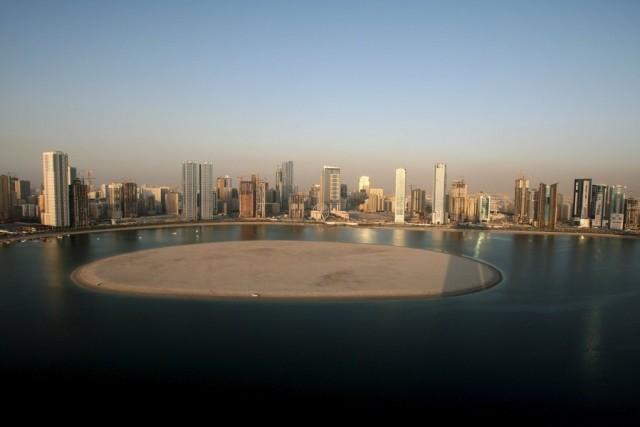 Ένα τεχνητό νησί – πολυτελής προορισμός στη είσοδο του Αραβικού Κόλπου