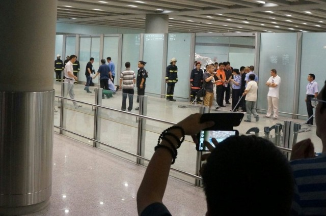 Ανησυχία για τις εσωτερικές πτήσεις στην Κίνα μετά από εμπρηστική επίθεση