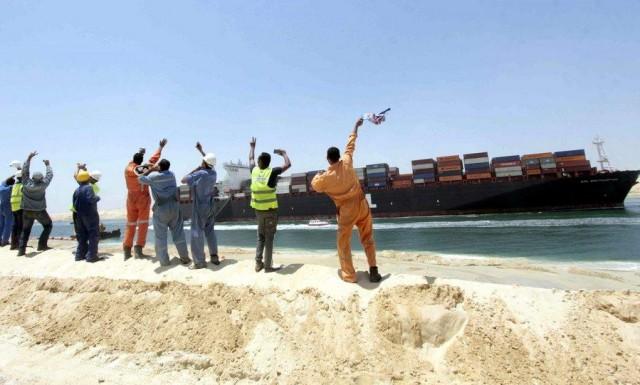 Ετοιμασίες για το μεγάλο έργο στο Σουέζ