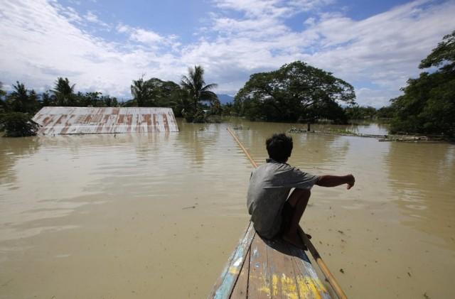 27 νεκροί από τις πλημμύρες στη Μιανμάρ