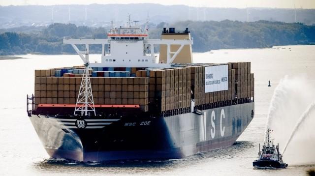Η MSC βάπτισε το τρίτο πλοίο της